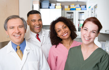 a group of dentists