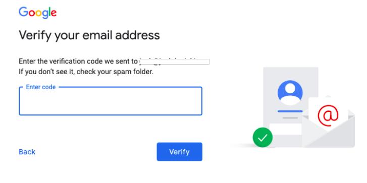 google verify email address